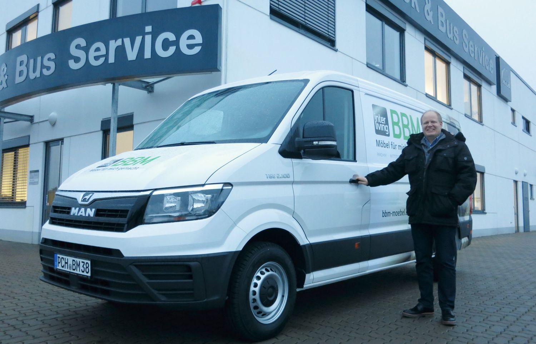 Der Man Tge Liefert Jetzt Ausgezeichnete Möbel Truck Bus Service
